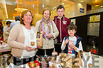 l-r  Josie O'Donnell, O'Donnell's Bakery, Killorglin, Mary Godley, Ronan Godley and James Godley from Ballyheigue at the Taste of Tralee Food Fair in Manor West Retail Park on Saturday