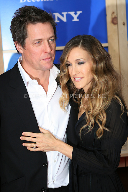 WWW.ACEPIXS.COM . . . . .  ....December 14 2009, New York City....Actors Hugh Grant and Sarah Jessica Parker at the premiere of 'Did you hear about the Morgans?' at the Ziegfeld Theatre on December 14 2009 in New York City....Please byline: NANCY RIVERA- ACEPIXS.COM.... *** ***..Ace Pictures, Inc:  ..Tel: 646 769 0430..e-mail: info@acepixs.com..web: http://www.acepixs.com