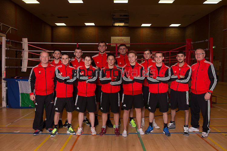 Glasgow 2014<br /> Team Wales Boxing Squad<br /> <br /> 05.06.14<br /> ©Steve Pope-SPORTINGWALES
