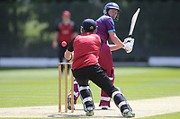 Callum Jackson of Hampstead during North Middlesex CC vs Hampstead CC, Middlesex County League Cricket at Park Road on 25th May 2019