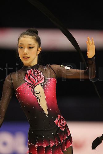 Natsuki Konishi (JPN), .OCTOBER 9, 2010 - Rhythmic Gymnastics : .AEON CUP 2010 .Worldwide R.G. Club Championships .at Tokyo Metropolitan Gymnasium, Tokyo, Japan. .