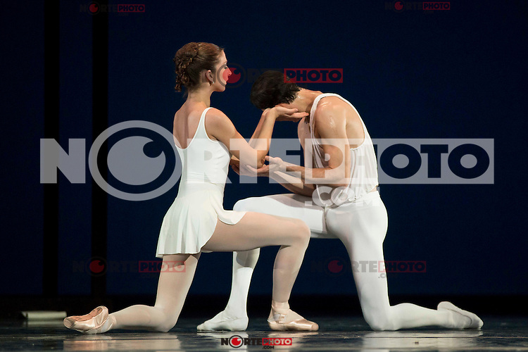 The Dutch National Ballet during a rehearsal for the press at Teatros del Canal in Madrid. April 28, 2016. (ALTERPHOTOS/Borja B.Hojas) /NortePhoto