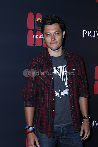LOS ANGELES, CA - MAY 10: Blair Redford  arrives at the '6 Bullets To Hell' Mobile Game Launch Party on May 10, 2016 in Los Angeles, California. Credit: Parisa/MediaPunch.
