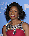 Angela Bassett in the press room at the 39th NAACP Image Awards held at the Shrine Auditorium Los Angeles, Ca. February 14, 2008. Fitzroy Barrett