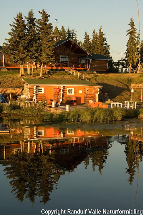 Colville Lake Lodge, Canada.