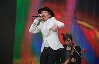 Beck Hansen (Beck) during British Summertime Music Festival at Hyde Park, London, England on 18 June 2015. Photo by Andy Rowland.