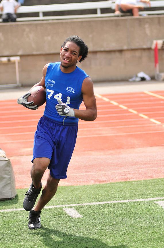 2009 All-American College Football Skills Academy, Charleston, WV. April 18, 2009 (©J.Lee Photography, LLC)