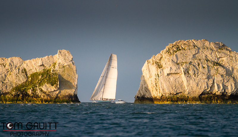 20130601  Copyright onEdition 2013©<br /> Free for editorial use image, please credit: onEdition<br /> <br /> ICAP Leopard rounding the Needles<br /> <br /> The J.P. Morgan Asset Management Round the Island Race (Saturday 1st June) is the 4th largest participation sporting event in the UK and the largest yacht race of its kind in the world. Organised by the Island Sailing Club in Cowes, it is dubbed 'Britain's favourite yacht race', attracting anything between 1,500 - 1,800 yachts and 16,000 competitors. www.roundtheisland.org.uk<br /> For media enquires, please contact Dan Wilkinson at Into the Blue on +44 (0)1983 203529 or email Dan.Wilkinson@intotheblue.biz<br /> <br /> <br /> This image has been supplied by onEdition and must be credited onEdition. The author is asserting his full Moral rights in relation to the publication of this image. Rights for onward transmission of any image or file is not granted or implied. Changing or deleting Copyright information is illegal as specified in the Copyright, Design and Patents Act 1988. If you are in any way unsure of your right to publish this image please contact onEdition on 0845 900 2 900 or email info@onEdition.com