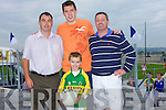 NEW: At the official opening of the New Football Pitch, Pa?irc Ui? Ealaithe, Ballyricard on Saturday. They were: Paul and Conor Hayes, David Moran and Bernie Keane...   Copyright Kerry's Eye 2008