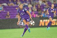 Orlando, FL - Saturday September 02, 2017: Dani Weatherholt during a regular season National Women's Soccer League (NWSL) match between the Orlando Pride and the Boston Breakers at Orlando City Stadium.