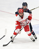 Taylor Holze (BU - 24), Maggie Walsh (UConn - 28) - The Boston University Terriers defeated the visiting University of Connecticut Huskies 4-2 on Saturday, November 19, 2011, at Walter Brown Arena in Boston, Massachusetts.