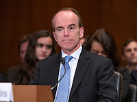 Daniel P. Collins testifies before the United States Senate Committee on the Judiciary on his nomination to be United States Circuit Judge For The Ninth Circuit on Capitol Hill in Washington, DC on Wednesday, March 13, 2019.<br /> Credit: Ron Sachs / CNP/AdMedia