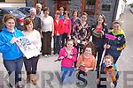 FÉILE: Preparing for the annual Féile Cheoil at the Ceolann in Lixnaw, front l-r: Maura Walsh, Louise Bunyan, Lorraine Nash, Ciara Shannon, Alannah Kissane. Back l-r: PJ Dennehy, Tim Nash, Liz O'Keeffe, Bridie Stack, Róisín Rice, Mary Dennehy, Helen Shanahan.