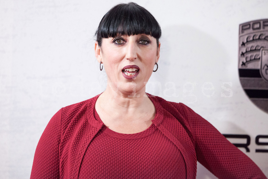Rossy de Palma attending the opening of the movie Volver a Nacer in Madrid.
