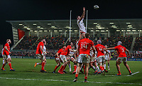 Friday 3rd January 2020 | Ulster Rugby vs Munster Rugby<br /> <br /> Alan O'Connor during the PRO14 Round 10 inter-pro clash between Ulster and Munster at Kingspan Stadium, Ravenhill Park, Belfast, Northern Ireland.  Photo by John Dickson / DICKSONDIGITAL