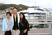 LOS ANGELES - SEP 28:  Kaden Alejandro, Kevin Alejandro, Leslie de Jesus at the 2019 Catalina Film Festival - Saturday at the Catalina Express on September 28, 2019 in Avalon, CA