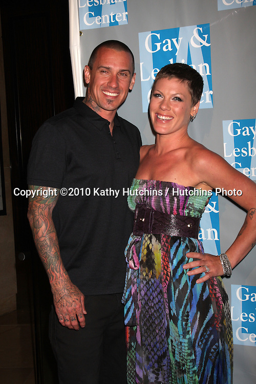 Carey Hart & Pink (Alecia Moore).arrives at An Evening with Women - LA Gay & Lesbian Center's Gala.Beverly Hilton Hotel.Beverly Hills, CA.May 1, 2010.©2010 Kathy Hutchins / Hutchins Photo...