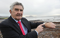Time on his hands....Mick O'Dwyer reflects on his distinguished career in his home town of Waterville in County Kerry on Thursday.<br /> Picture by Don MacMonagle