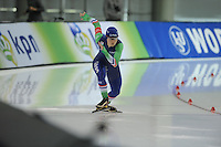 SPEED SKATING: SALT LAKE CITY: 20-11-2015, Utah Olympic Oval, ISU World Cup, 500m, Floor van den Brandt (NED), ©foto Martin de Jong