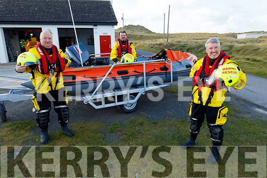 Members of the Banna Sea Rescue, who are one of the 5 chosen charities of the Ring of Kerry this year.<br /> Front: Brian Crean.<br /> Back: Guy Buxton and John Sheehan