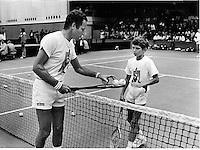 15-07-1982, England, London, Dunlop McEnroe day, Okker with Richard Krajicek