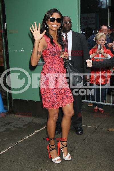 May 16, 2012 Gabrielle Union at Good Morning America in New York City. Credit: RW/MediaPunch Inc.
