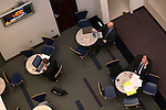 Lobbyists work in the Caucus Deli at the Legislative Building in Carson City, Nev., on Tuesday, March 3, 2015. <br /> Photo by Cathleen Allison