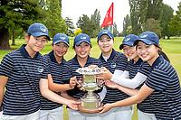 181208 Golf - Women's Interprovincial Golf Championship Final