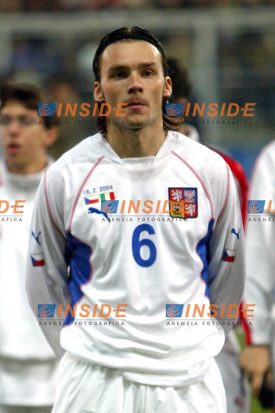 Palermo 18/2/2004 Amichevole - Friendly Match <br /> Italy Czech Republic - Italia Repubblica Ceca 2-2 <br /> Marek Jankulovsky (Cze)<br /> Photo Andrea Staccioli Insidefoto