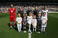 ATTENTION SPORTS PICTURE DESK<br /> Pictured: Garry Monk (right) of Swansea City<br /> Re: Coca Cola Championship, Swansea City FC v Bristol City FC at the Liberty Stadium Swansea, south Wales. Saturday 18 April 2009.<br /> Picture by D Legakis Photography / Athena Picture Agency, Swansea 07815441513