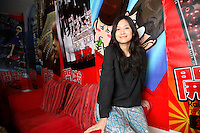 Xu Jinglei, actress, director, and China's number one blogger, photographed at her office in Beijing, China on 19 March, 2008.