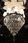 MUMBAI, INDIA - SEPTEMBER 27, 2010: A light fitting in the Rajput Suite in the heritage wing at the renovated Taj Mahal Palace and Tower Hotel in Mumbai. The Hotel has re-opened after the terror attacks of 2008 destroyed much of the heritage wing. The wing has been renovated and the hotel is once again the shining jewel of Mumbai. pic Graham Crouch