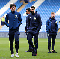 Blackburn Rovers players inspect the pitch before kick off<br /> <br /> Photographer David Shipman/CameraSport<br /> <br /> The EFL Sky Bet Championship - Sheffield Wednesday v Blackburn Rovers - Saturday 16th March 2019 - Hillsborough - Sheffield<br /> <br /> World Copyright &copy; 2019 CameraSport. All rights reserved. 43 Linden Ave. Countesthorpe. Leicester. England. LE8 5PG - Tel: +44 (0) 116 277 4147 - admin@camerasport.com - www.camerasport.com