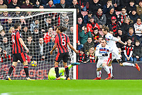 Xherdan Shaqiri of Stoke City (22) scores the first goal and celebrates during AFC Bournemouth vs Stoke City, Premier League Football at the Vitality Stadium on 3rd February 2018