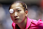 Athelete in action during the ITTF World Team Table Tennis Championship 2014 at the Yoyogi National Gymnasium on May 01, 2014 in Tokyo, Japan. Photo by Alan Siu / Power Sport Images