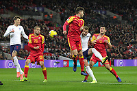 Harry Kane of England scores to make it 2-0 during the UEFA Euro 2020 Qualifying Group A match between England and Montenegro at Wembley Stadium on November 14th 2019 in London, England. (Photo by Matt Bradshaw/phcimages.com)<br /> Foto PHC Images / Insidefoto <br /> ITALY ONLY