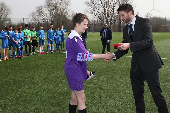 GREENHOUSE SPORTS v CLAPHAM RANGERS<br /> LONDON FA U14 YOUTH SATURDAY CUP FINAL SATURDAY 12TH MARCH 2016 THAMESMEAD SPORTING CLUB