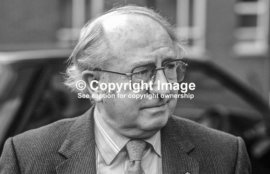 George White, vice chairman, Derry City Football Club, Londonderry, N Ireland, 19840033GW.<br />