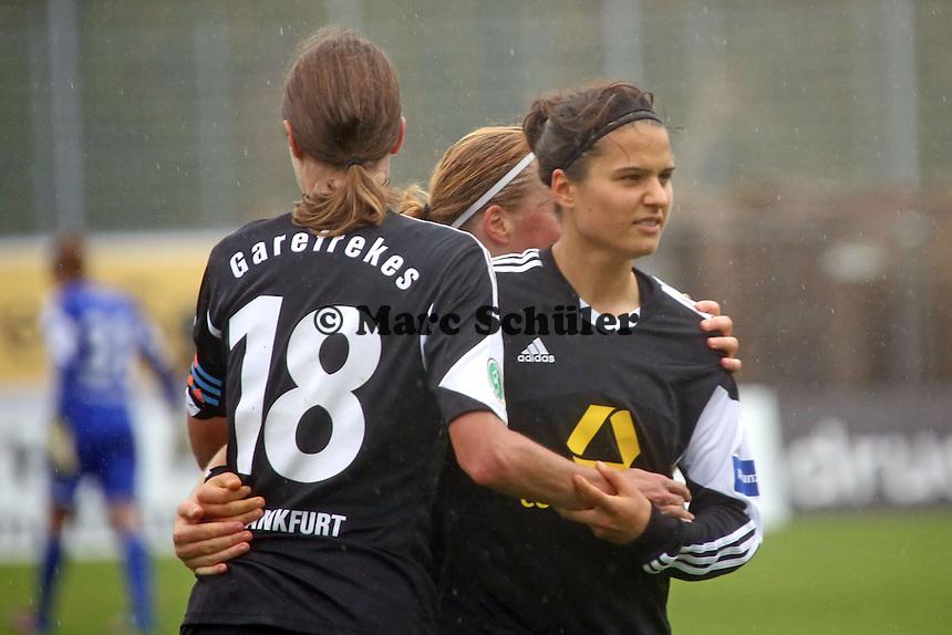 Jubel um Dzsenifer Marozsan (FFC) - 1. FFC Frankfurt vs. VfL Sindelfingen