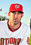 28 February 2010: Washington Nationals catcher Devin Ivany poses for his Spring Training photo at Space Coast Stadium in Viera, Florida. Mandatory Credit: Ed Wolfstein Photo