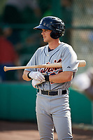 Detroit Tigers Danny Woodrow (22) on deck during an Instructional League game against the Atlanta Braves on October 10, 2017 at the ESPN Wide World of Sports Complex in Orlando, Florida.  (Mike Janes/Four Seam Images)