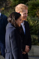 Prince Harry and Meghan Markle visit a Terrence Higgins Trust World AIDS Day Charity Fair, Nottingham Contemporary in Nottingham England on December 01 2017<br /> CAP/CAS<br /> &copy;CAS/Capital Pictures /MediaPunch ***NORTH AND SOUTH AMERICAS ONLY***