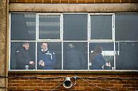 Fans have a drink inside Elland Road, home of Leeds United FC<br /> <br /> Photographer Alex Dodd/CameraSport<br /> <br /> The EFL Sky Bet Championship - Leeds United v Sheffield United - Saturday 16th March 2019 - Elland Road - Leeds<br /> <br /> World Copyright © 2019 CameraSport. All rights reserved. 43 Linden Ave. Countesthorpe. Leicester. England. LE8 5PG - Tel: +44 (0) 116 277 4147 - admin@camerasport.com - www.camerasport.com