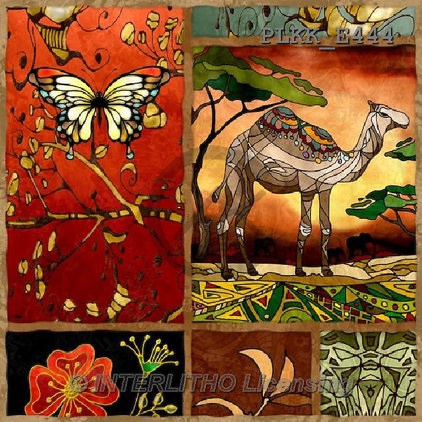 Kris, MODERN, MODERNO, ethnic, paintings+++++,PLKKE444,#N# etnical