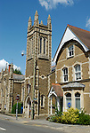 Farnham Methodist Church in South Street, Surrey, England