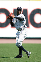 April 26, 2009:  Left Fielder Austin Jackson (24) of the Scranton Wilkes-Barre Yankees, International League Class-AAA affiliate of the New York Yankees, during a game at the Frontier Field in Rochester, NY.  Photo by:  Mike Janes/Four Seam Images