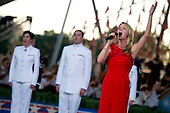 Tony award winning Broadway actress Kelli O'Hara performs at the National Memorial Day Concert on the West Lawn of the United States Capitol in Washington, D.C on Sunday, May 30, 2010. .Mandatory Credit: Chad J. McNeeley - DoD via CNP