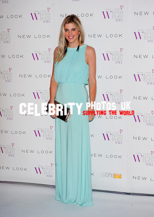 at the New Look Winter Wishes Charity Ball at Battersea Evolution on November 6, 2013 in London, England. attends the New Look Winter Wishes Charity Ball at Battersea Evolution on November 6, 2013  2013, Photo by Brian jordan /Retna Pictures
