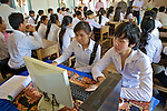 Students With Computer
