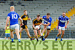 David O'Leary Dr Crokes and Adrian Spillane Templenoe in action during the SFC quarter final in Fitzgerald Stadium on Sunday